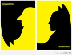Batman and Penguin