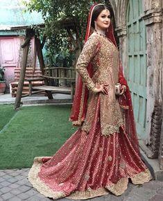 Indian Wedding Gowns, Pakistani Wedding Dresses, Pakistani Dress Design, Pakistani Outfits, Indian Weddings, Indian Bridal, Pakistani Bridal Lehenga, Pakistan Bridal, Muslim Women Fashion
