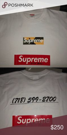 dca48dbb459e7 FW17 Brooklyn Box Logo 9 10 Supreme Shirts Tees - Short Sleeve Box Logo