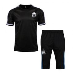 Maillot Training Marseille Noire Mon Cheri, Tee Shirts, Tees, Football, Boutique, Short, Om, Sweatpants, Sweatshirt