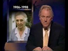 BBC News: Death of Joan Bogle Hickson OBE 17th October 1998 aged 92.