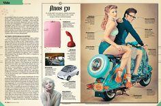 Revista Época  Matéria: Saudades de um tempo que não vivi    Fotógrafo: Marcos Lopes  Produtor de moda: Clóvis Vieira  Maquiador: Walmir Sparapane