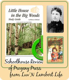 Review of Little House in the Big Woods Study Guide from Progeny Press