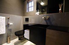 Custom vanity for staff bathroom Custom Vanity, Innovation Design, Offices, Bathroom, Architecture, Interior, Table, Furniture, Home Decor