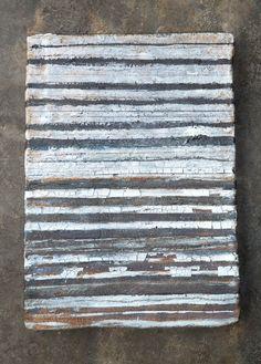 stoneware wall plaque~Brenda Holzke