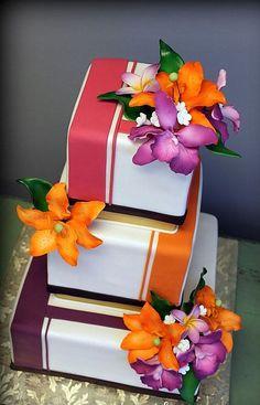 Diseños de Tortas Cuadradas: Lindos diseños modernos y originales de tortas cuadradas para bodas, Pasteles de cumpleaños y Tortas de 15 años. Ingresa .