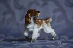 Cocker Spaniel Hutschenreuther porcelain hunting dog figur 1955-1968 Bavaria Selb 127 EUR