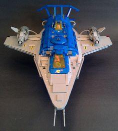 Galaxy Explorer 2.0 Front View | LegoSpaceGuy | Flickr