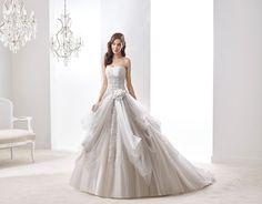 Moda sposa 2016 - Collezione JOLIES.  JOAB16405. Abito da sposa Nicole.