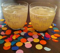 Cocktails & Apps For a Fun New Year's Eve Celebration | via The Honest Company blog