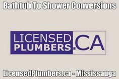 http://licensedplumbers.ca/picture_library/Bathtub-To-Shower-Conversion-Mississauga.jpg #BathtubToShowerConversionMississauga