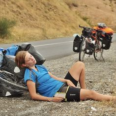 break while bicycle touring