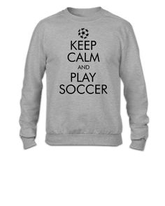 Keep Calm and Play Soccer2 - Crewneck Sweatshirt