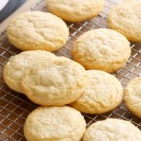 Old-Fashioned Lemon Sugar Cookie Recipe