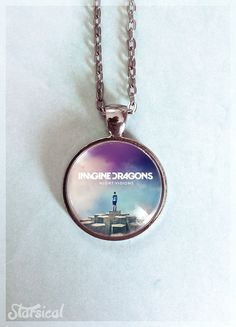 Imagine Dragons Pendant by Starsical on Etsy