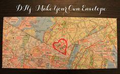 Linen, Lace, & Love: DIY: Make Your Own Envelope