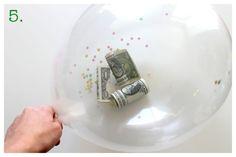 DYI: Money Balloon Easter Basket. CUTE!!!!