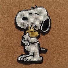 Snoopy perler beads by Tsubasa Yamashita – Famous Last Words Quilting Beads Patterns Perler Bead Designs, Hama Beads Design, Diy Perler Beads, Melty Bead Patterns, Pearler Bead Patterns, Perler Patterns, Quilt Patterns, Loom Patterns, Beaded Snoopy