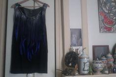 Tank with blue hair  By Jah Egregius  http://www.facebook.com/horsdutroupeau