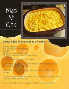 Mac and cheese Pampered Chef recipe