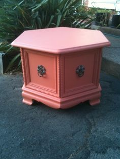 DIY - End Table Transformation on Pinterest   End Tables ...