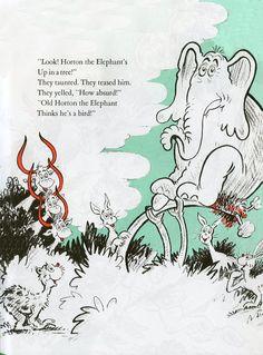 Theodor Seuss Geisel (1904-1991), Horton Hatches the Egg, 1940  An elephant's faithful!  100%!