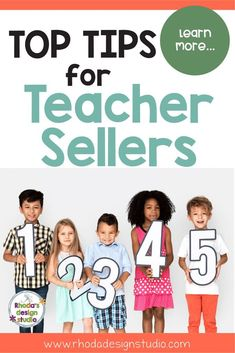 Learn to sell on Teachers Pay Teachers. Top Tips for New TpT Sellers. Make money online as a teacher by creating a side-hustle selling lesson plans. Rhoda Design Studio via Teacher Created Resources, Teacher Blogs, Teacher Hacks, Teacher Pay Teachers, Classroom Teacher, Teacher Stuff, Classroom Ideas, Reading Lessons, Math Lessons