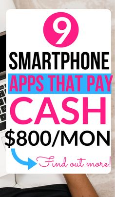 Need money making apps to make you quick cash? Here's a list of the best money making apps that pay cash or free gift cards. Top money apps that pay! by EarnSmartOnlineClass Read Online Surveys That Pay, Earn Money Online, Online Jobs, Paid Surveys, Online Careers, Surveys For Money, Need Money, Make Money Fast, Make Money From Home