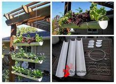 zelf maken | leuk verticaal tuintje voor afdak of langs een lelijke muur oid. Door Sansie123