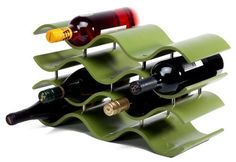 Oenophilia Bali 10 Wine Rack, Avocado by Oenophilia, Inc.. $59.20. Elegant bali inspired design. Holds 10 bottles of wine. Avocado green finish. The Indonesian island of Bali is known worldwide for its arts, including its wordworking and sculpture. The Indonesian culture is what inspired these elegant racks, reminiscent of the gently lapping waves of the Bali shore. Holds 10 bottles. Avocado Finish. 10-inch H by 17-1/2-inch W by 7-1/2-inch D The Indonesian island of Bali is know...