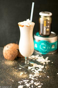 Shake bananowo - kokosowy - Gotowanie i pieczenie - I love it .