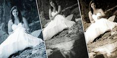 Trash the dress photo session Photo Sessions, Photo Book, One Shoulder Wedding Dress, Wedding Dresses, Fashion, Bride Dresses, Moda, Bridal Gowns, Fashion Styles