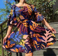 Rochie stilizata cu motive florale - Odette 5 | #ietraditionala #instafasion #romania  #rochie