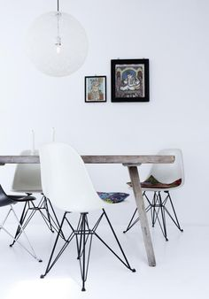 Herman Miller chairs and cushions