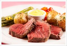 Châteaubriand for Two w/Sauce Béarnaise: Chateaubriand topped with Sauce Bearnaise is a classic entree for a romantic dinner for two ~ fabulously elegant, yet easy to prepare.