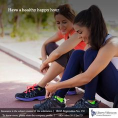 You can catch up with your friends while walking or jogging, instead of meeting them at a restaurant every now-and-then #NoExcuses