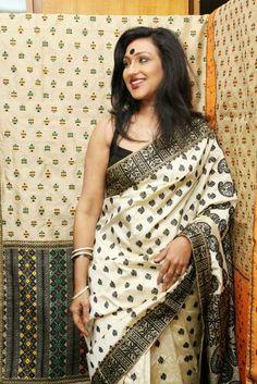 Muga silk saree, Assam