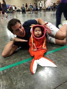 John Barrowman catches a Magikarp!