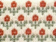 flower-jacquard-knitting