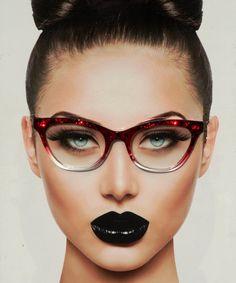 a96097dfc0 70 Best Beauty  N  Eyeglasses~ images