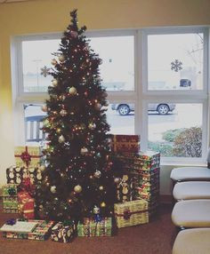 The tree at my day job #medical #Christmas #christmastree #decoration