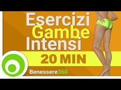 Esercizi per le Gambe Intensi - Allenamento di 20 Minuti - YouTube