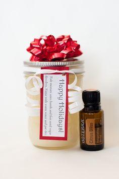 Gift ideas using essential oils