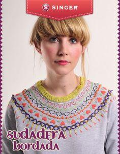 Sudadera bordada #original - Singer México