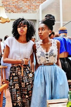 Both of these outfits are so my style! Mode Hippie, Mode Boho, Mode Style, Style Me, Look 80s, Look Fashion, Womens Fashion, Vintage Outfits, Looks Street Style