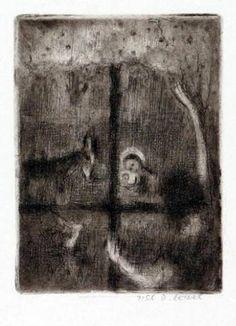 Bohuslav Reynek - Grafika - Výstava 2011 - galerie ART Chrudim - 3 Galerie D'art, Painting, Painting Art, Paintings, Drawings