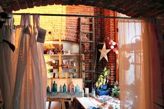 studio by afternoon light by Mae Chevrette, via Flickr - what a studio! I am so jealous