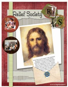 Relief Society Binder Cover