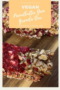 Making your own granola bars WITHOUT SUGAR is the perfect breakfast for stressful days! Or as a snack for work, university, school or hiking! Vegan Granola Bars, Make Your Own Granola, Healthy Vegan Breakfast, Snacks For Work, Baking Tins, Food Categories, Perfect Breakfast, Healthy Snacks For Kids, Food Processor Recipes