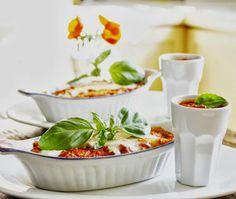 "Nonna's Cannellonis ~ via this blog, ""La Table De Nana""."